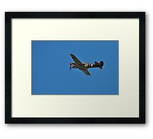 Kittyhawk fighter, WW2 Framed Print