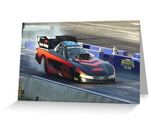 Drag Racing at Kwinana Motorplex Greeting Card