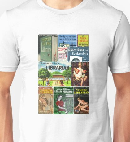 Librarians on Books Unisex T-Shirt