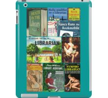Librarians on Books iPad Case/Skin