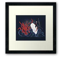 Dangerous Waters Framed Print