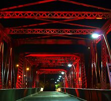 Red Bridge by Wayne  Nixon  (W E NIXON PHOTOGRAPHY)