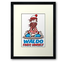 Where's Waldo Framed Print