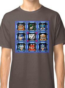 Megaman 3 Boss Select Classic T-Shirt