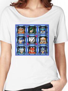 Megaman 3 Boss Select Women's Relaxed Fit T-Shirt