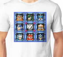 Megaman 3 Boss Select Unisex T-Shirt