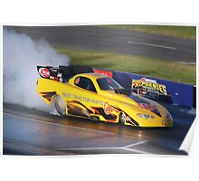 Drag Racing at Kwinana Motorplex Poster