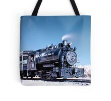 Flagg Coal Steam Engine HDR/IR Tote Bag