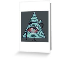Illuminati are Baked Greeting Card
