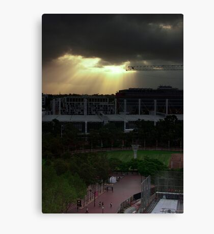 HDR trial Canvas Print