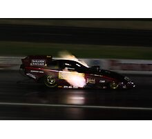 Drag Racing at Kwinana Motorplex Photographic Print