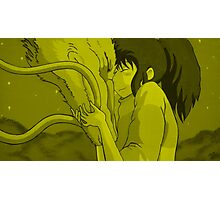 Haku and Chihiro - Spirited Away Photographic Print