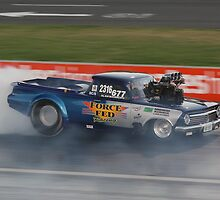 Drag Racing at Kwinana Motorplex by Stephen Horton