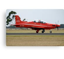 Pilatus PC-21 Canvas Print