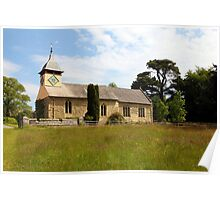 St. Michael and All Angels Church, Croft Castle. Poster