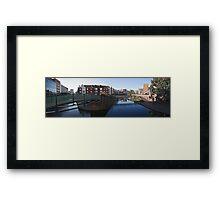 Birmingham panorama Framed Print