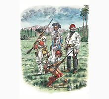French Troops at the Battle of Quebec 1759 Unisex T-Shirt