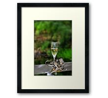 To The Bride & Groom Framed Print