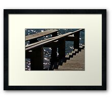 Into the Water Framed Print