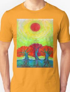 The Sun Three  Unisex T-Shirt