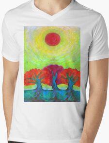 The Sun Three  Mens V-Neck T-Shirt