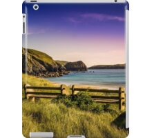 Seat With An Ocean View (TS) iPad Case/Skin