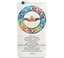 Love And Friendship Art by Sharon Cummings iPhone Case/Skin