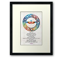 Love And Friendship Art by Sharon Cummings Framed Print