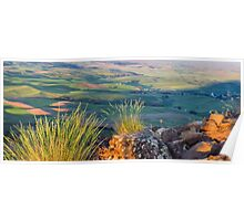 Palouse from Steptoe butte Poster