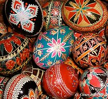 Ukrainian Easter Eggs by GraceNotes