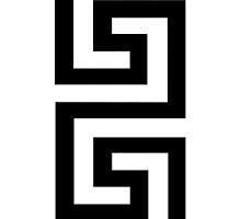 Meander - Greek Key Pattern by arialite