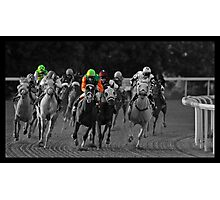 Race Series #4 Photographic Print