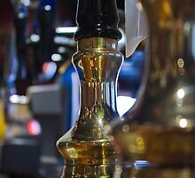 Beer pumps in The Bear, Bedford. by fotddarren