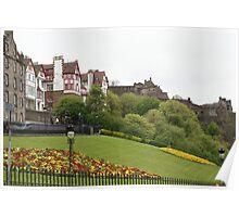 Ramsay Gardens, Edinburgh Poster