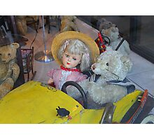 Antique Teddy Bear Got Company Photographic Print