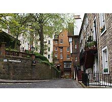 Ramsay Garden streetscape, Edinburgh Photographic Print