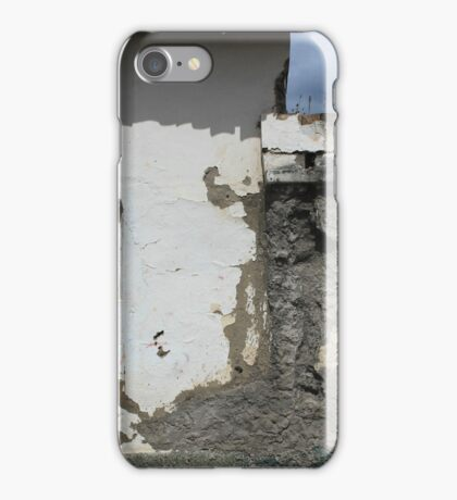 Windows in a Concrete Wall iPhone Case/Skin
