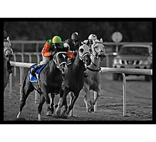 Race Series #7 Photographic Print