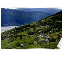 Abriachan, Inverness-shire, overlooking Loch Ness Poster
