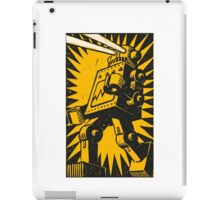 Black Robot iPad Case/Skin