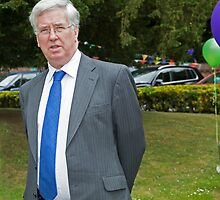 Defence secretary Michael Fallon Mp by Keith Larby