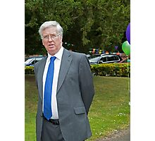 Defence secretary Michael Fallon Mp Photographic Print