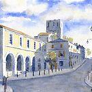 View of Marthon, France by ian osborne