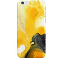 Yellow Orange Abstract Art - The Dreamer - By Sharon Cummings iPhone Case/Skin