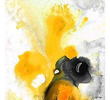 Yellow Orange Abstract Art - The Dreamer - By Sharon Cummings Photographic Print