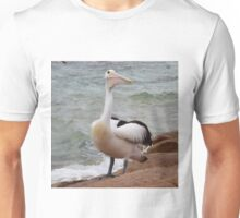 The Dunsborough Beach Pelican Unisex T-Shirt