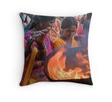 Faith. Tiruvanamalai Throw Pillow