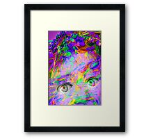 Nature Shock Framed Print
