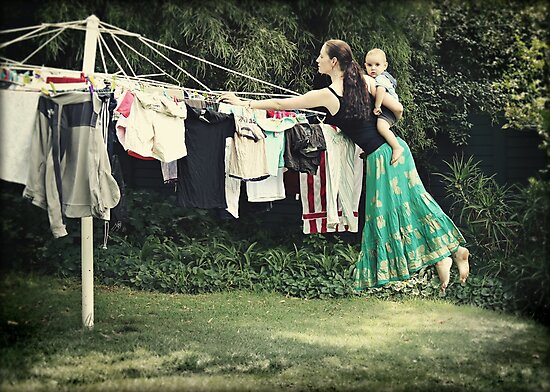 The Secret Powers of SuperMom... I wish... by micklyn