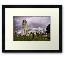 Church of St. Mary and St. Martin. At Blyth Framed Print
